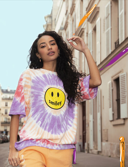 Oversized Smiley T-shirt