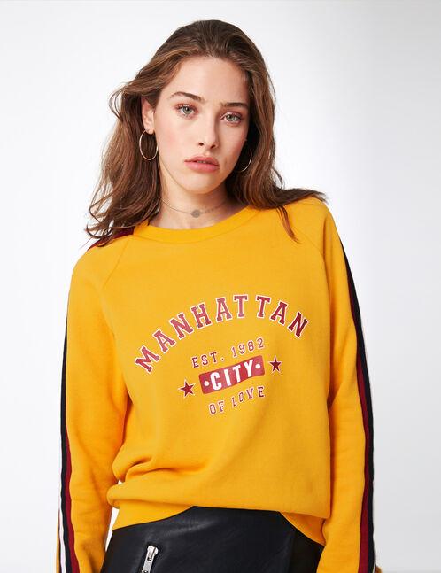 """Ochre """"Manhattan"""" sweatshirt"""