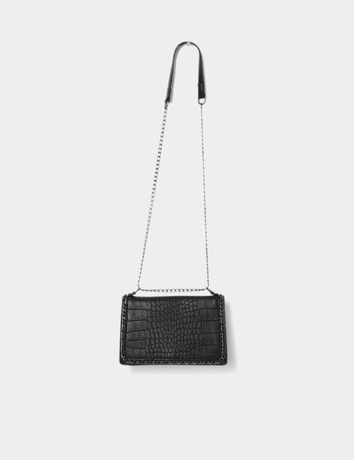 Black bag with chain detail