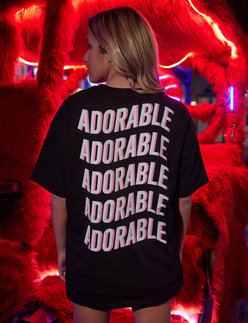 Tee-shirt oversize Bêtises