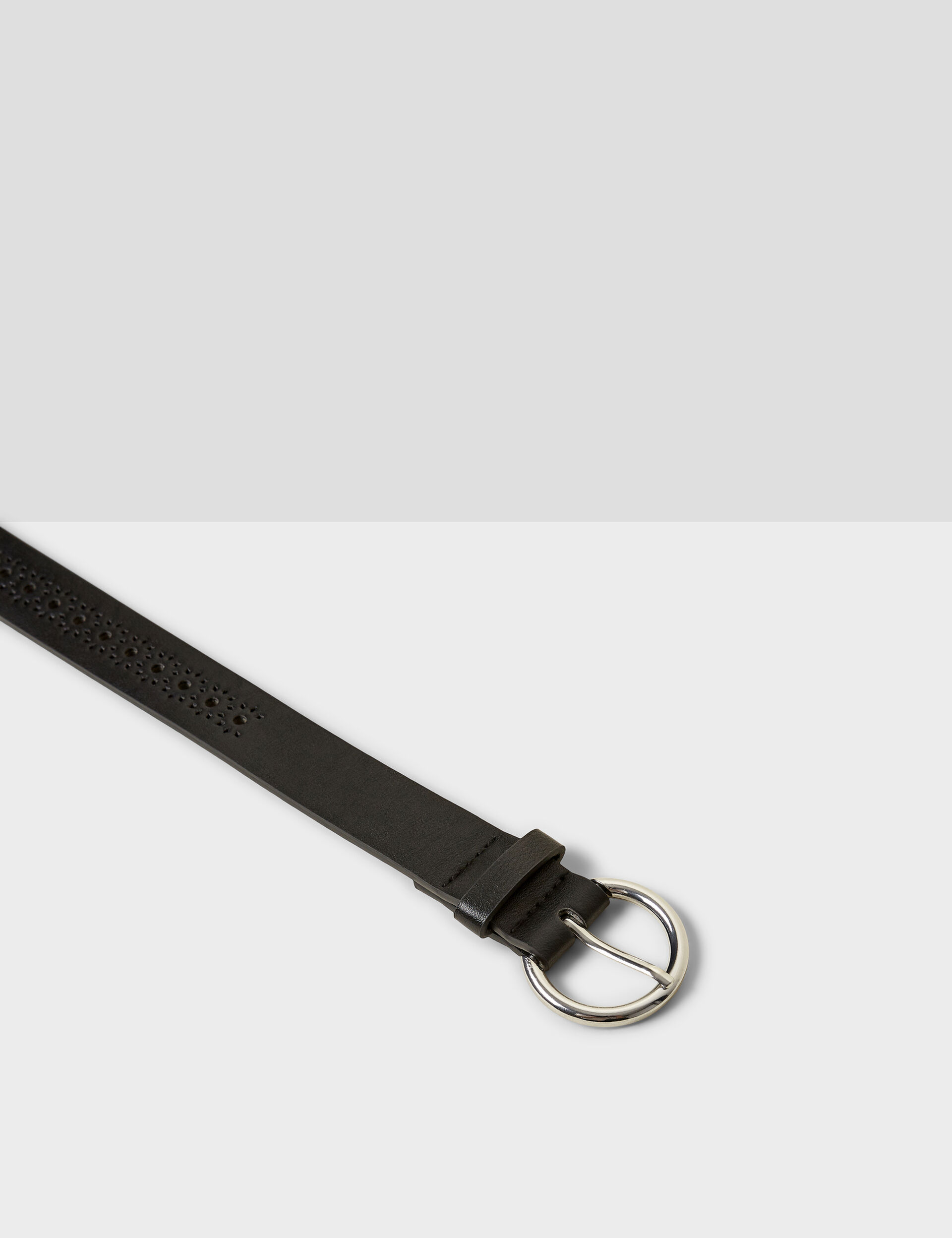 Fancy perforated belt