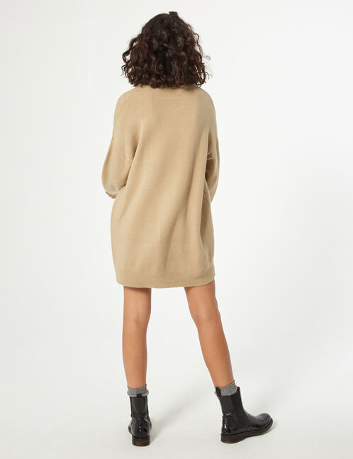 robe pull effet cachemire