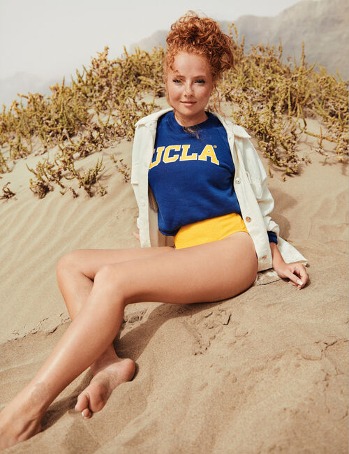 Cropped UCLA sweatshirt