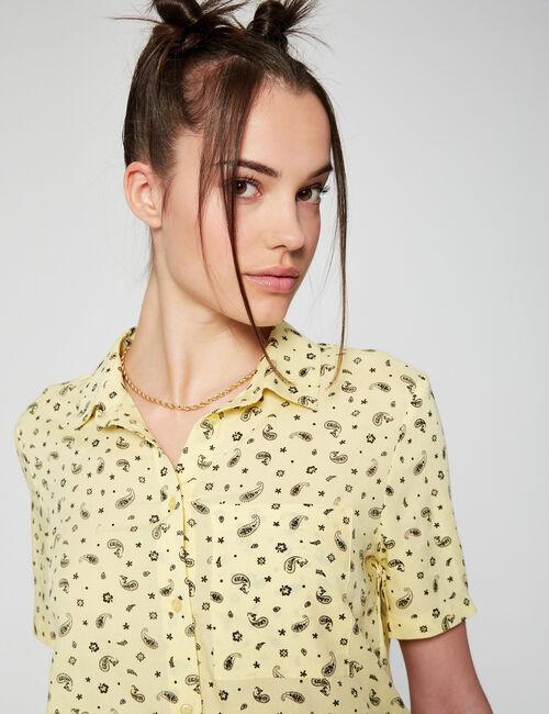Printed short shirt