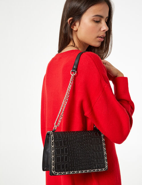 Bag with small chain