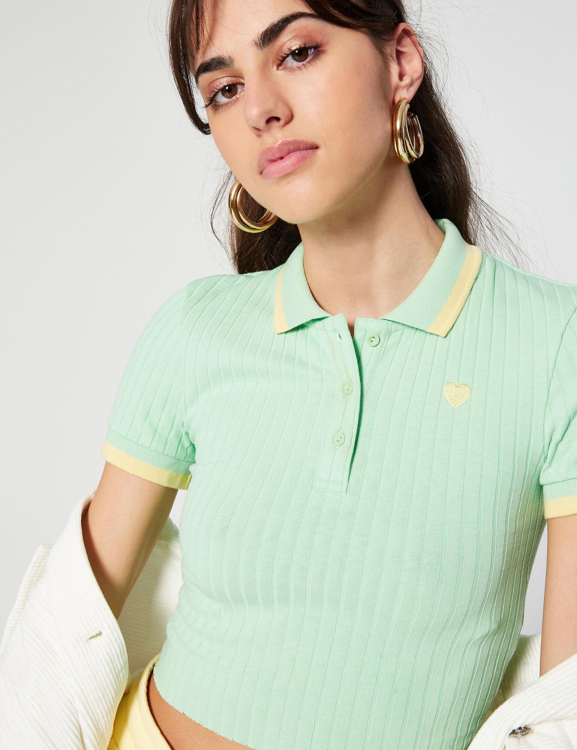Tee-shirt esprit polo