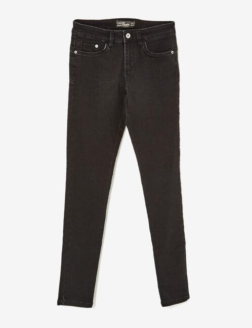 Black push-up skinny jeans