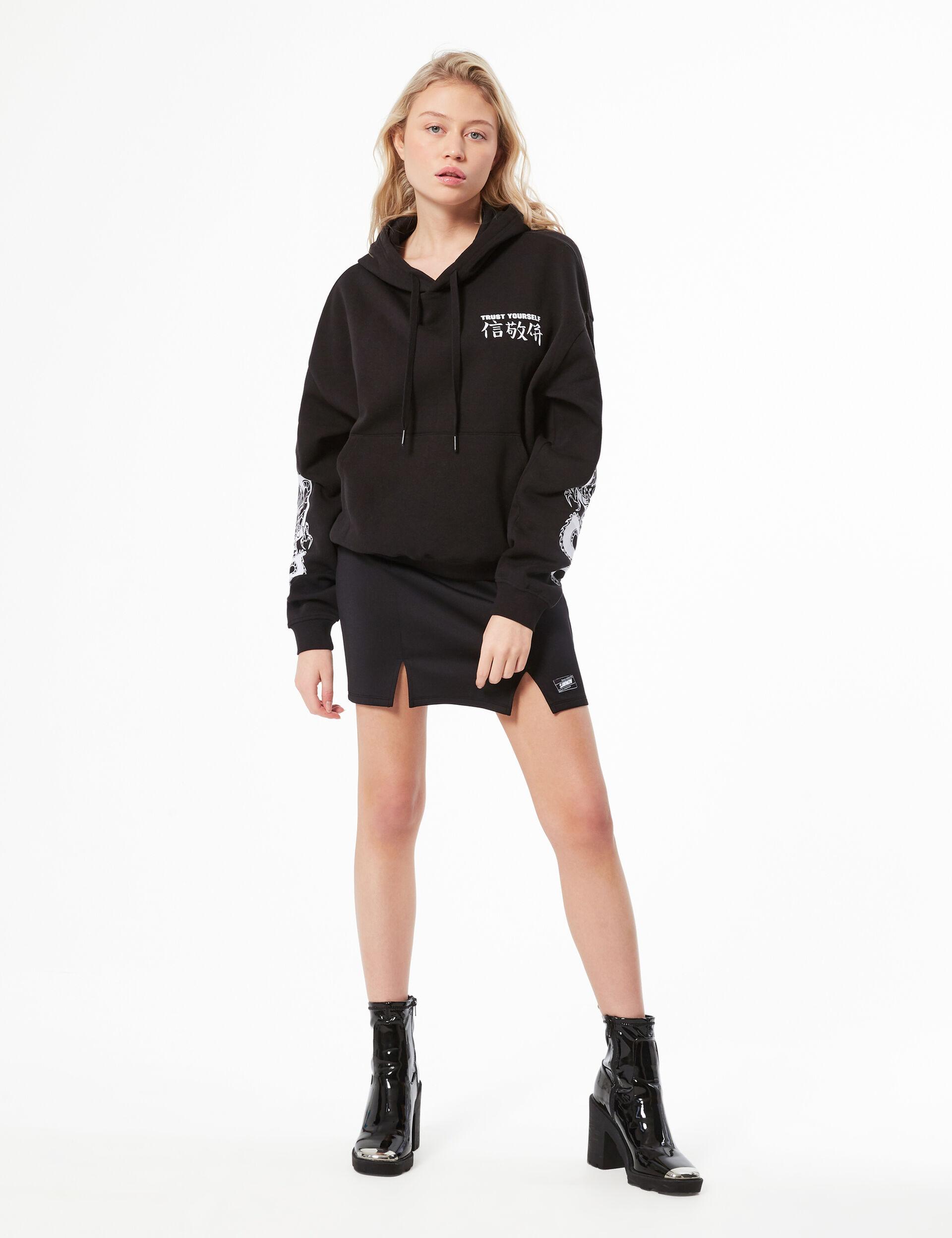 Text design hoodie