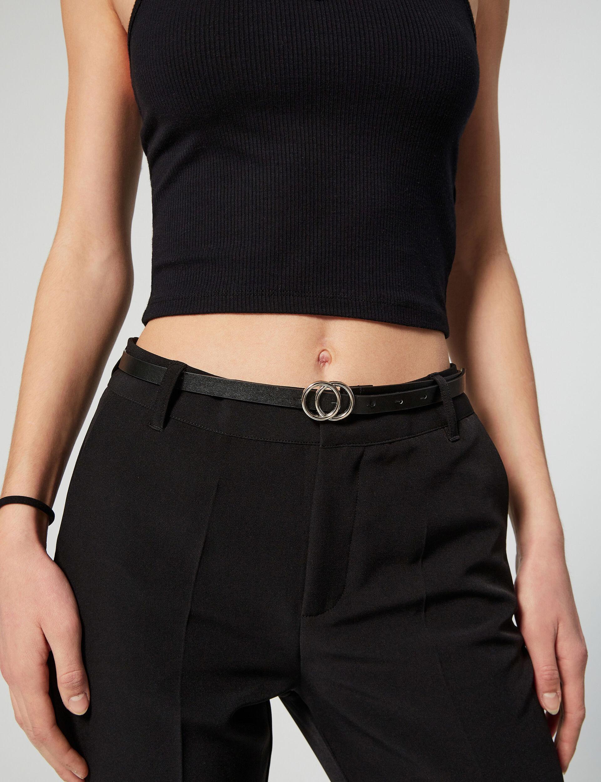 Pantalon ville avec ceinture