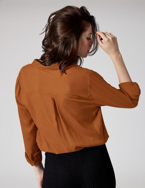 Basic camel shirt