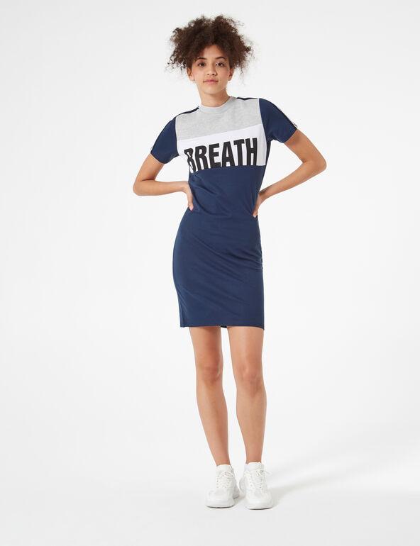 Robe breath avec bandes