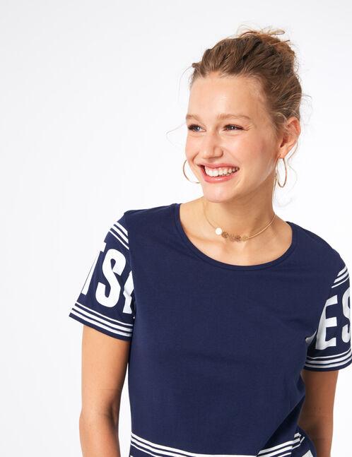 tee-shirt westside bleu marine