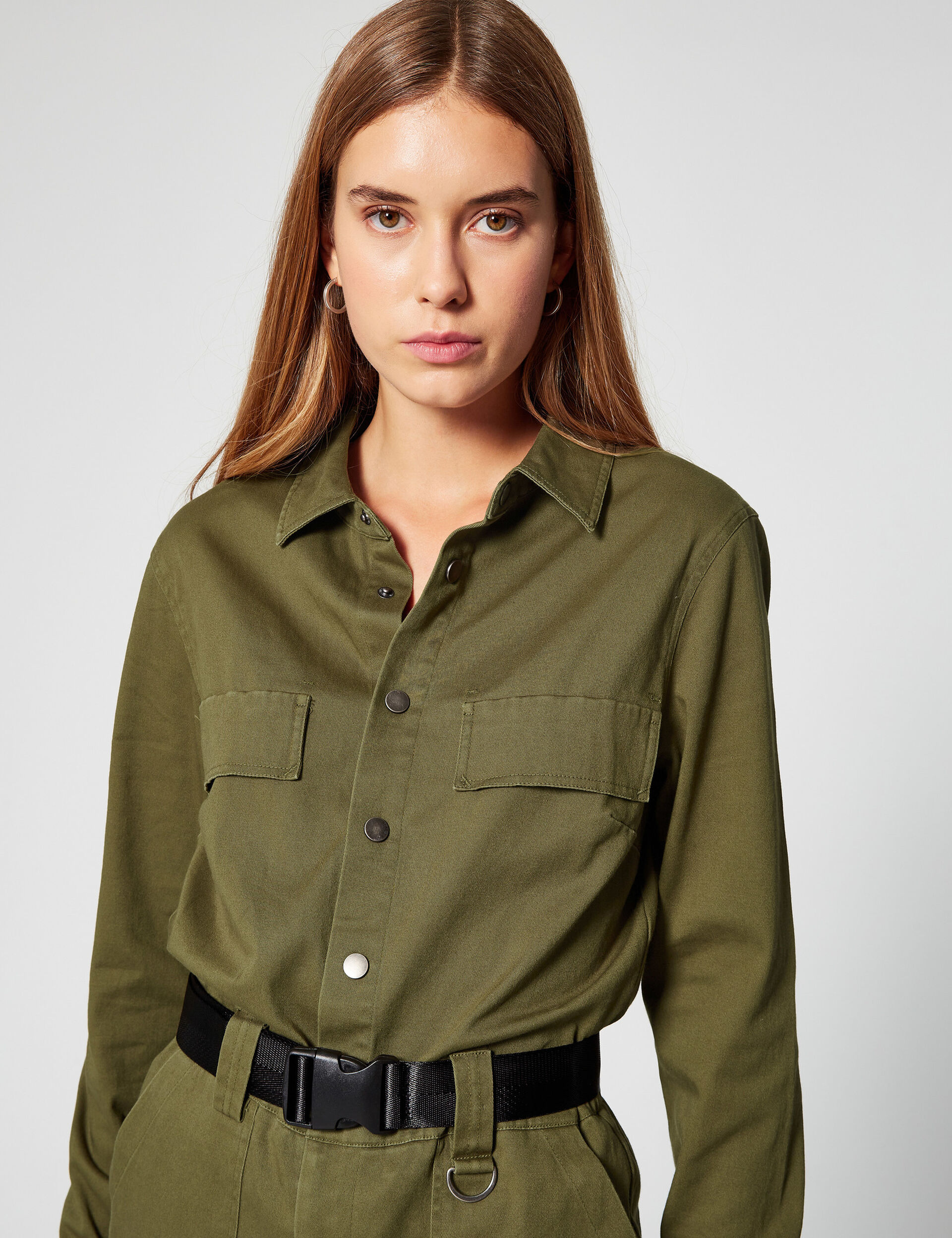 Military-style jumpsuit