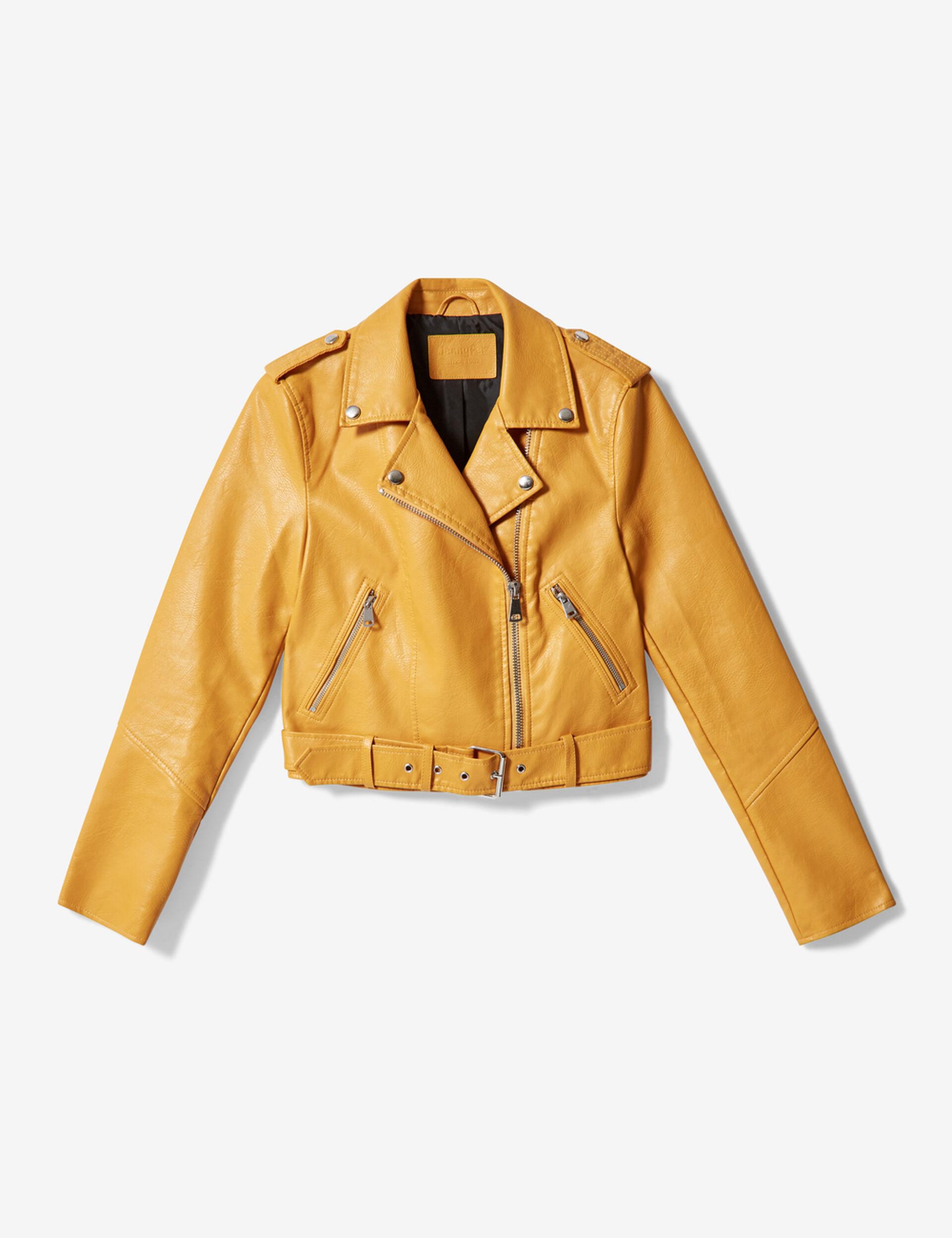 Ochre biker jacket
