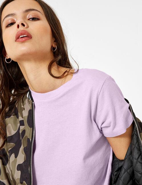 Basic lilac T-shirt