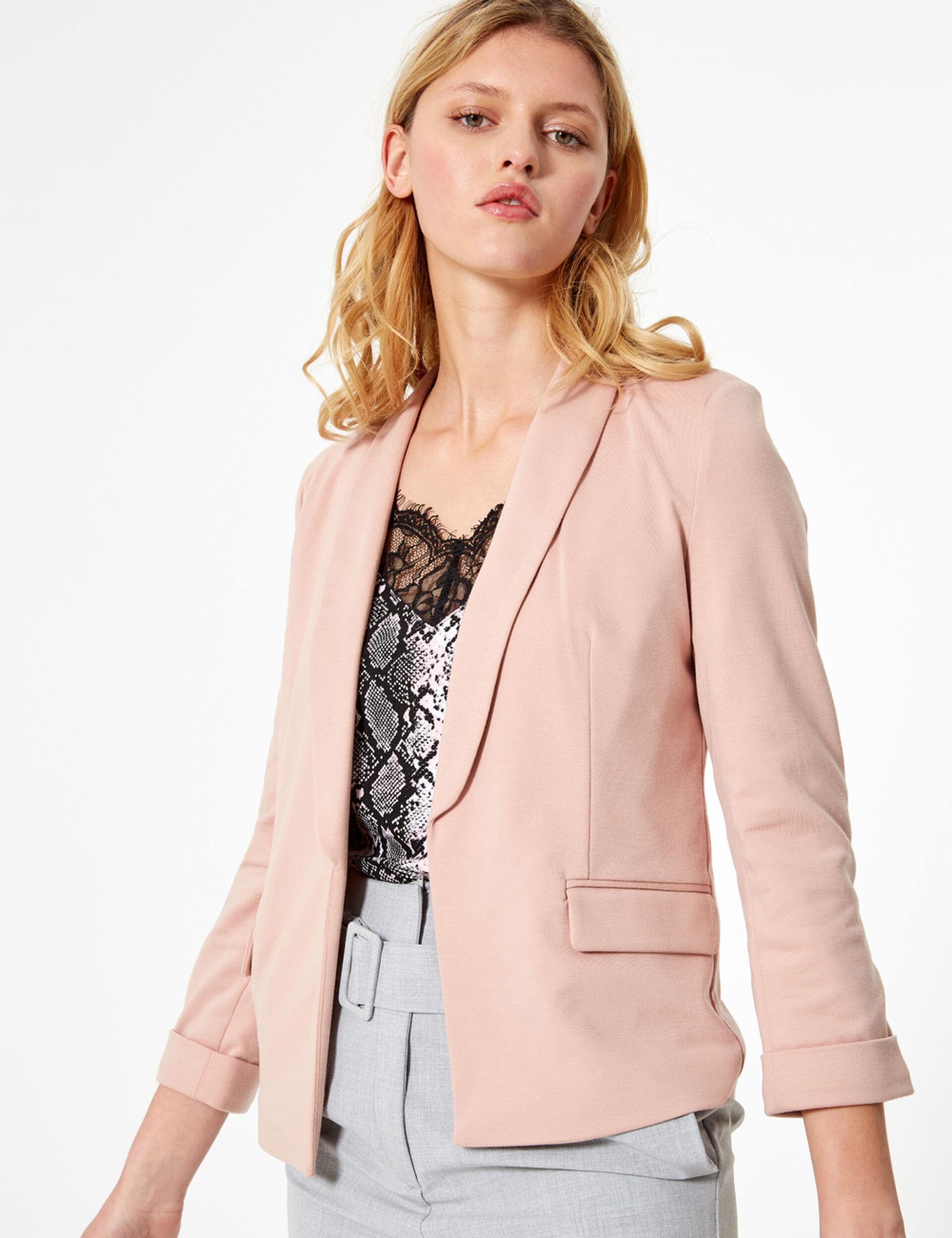 Blazer rose pale