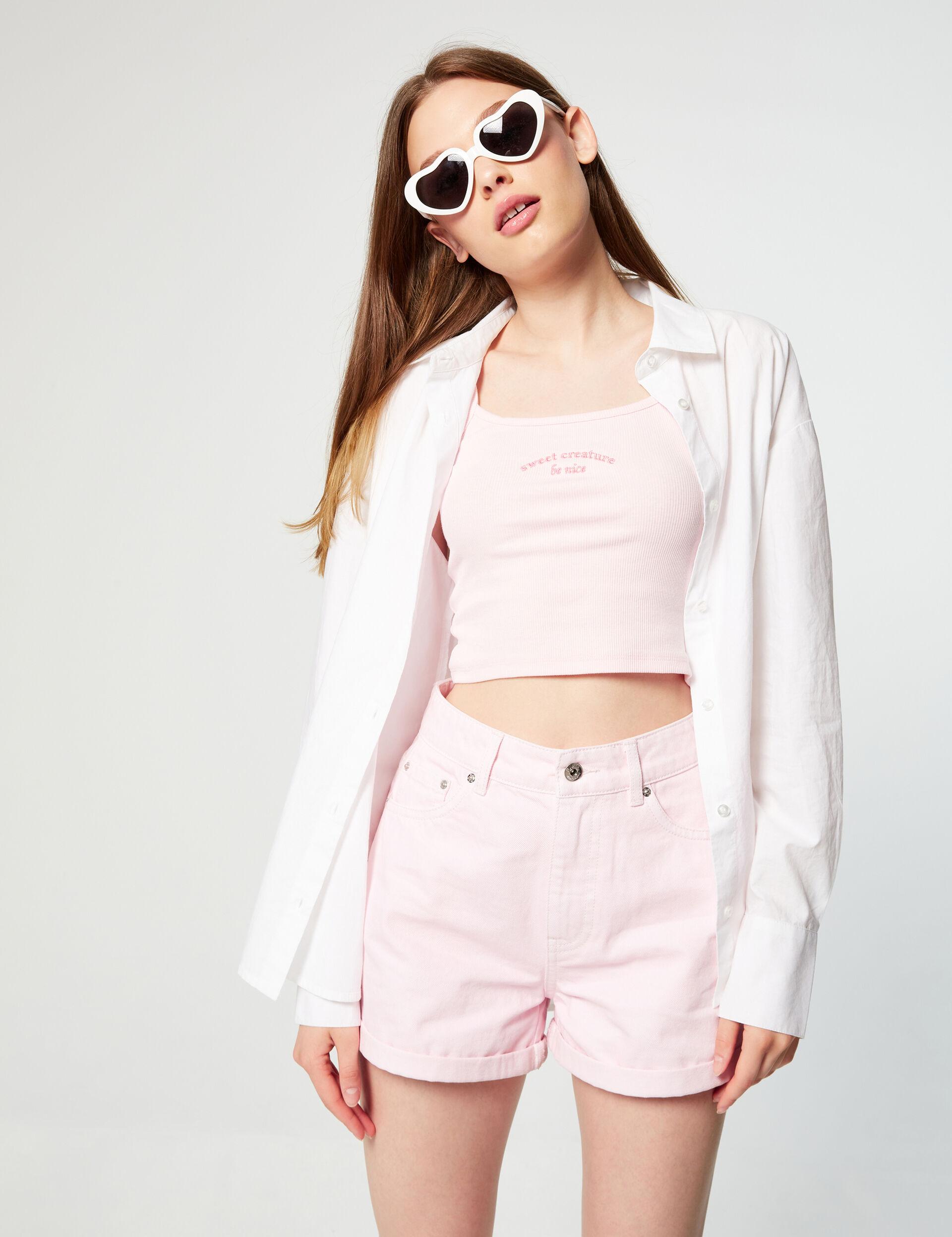Basic loose-fit shirt