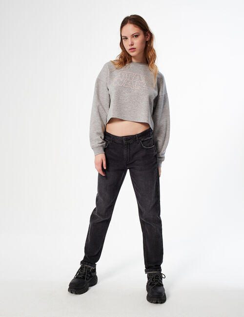 Star Wars cropped sweatshirt