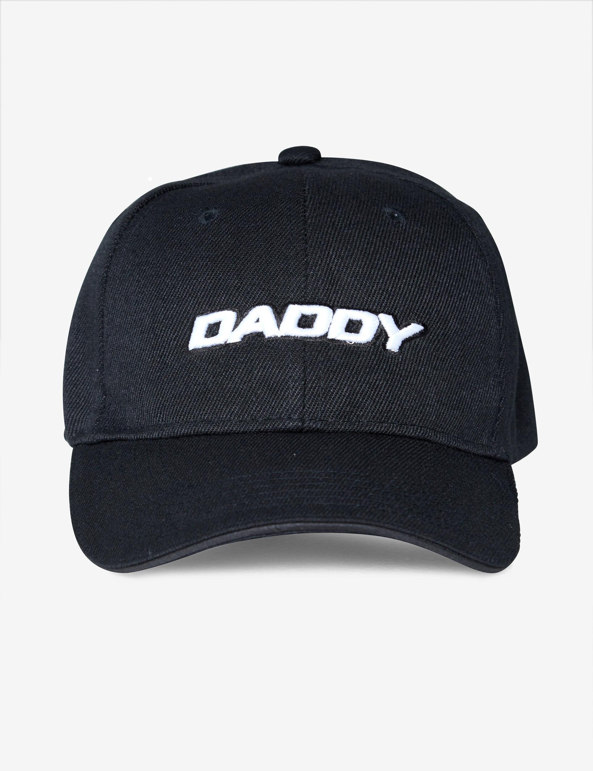 Brad cap with slogan