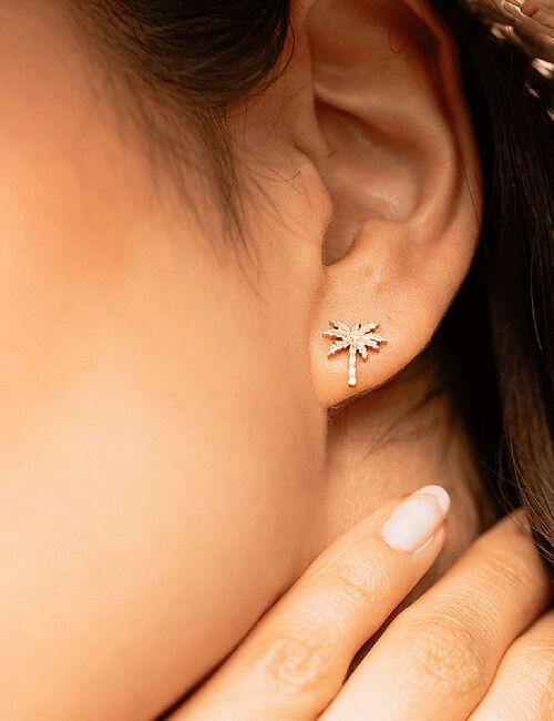 Boucles d'oreilles Palm