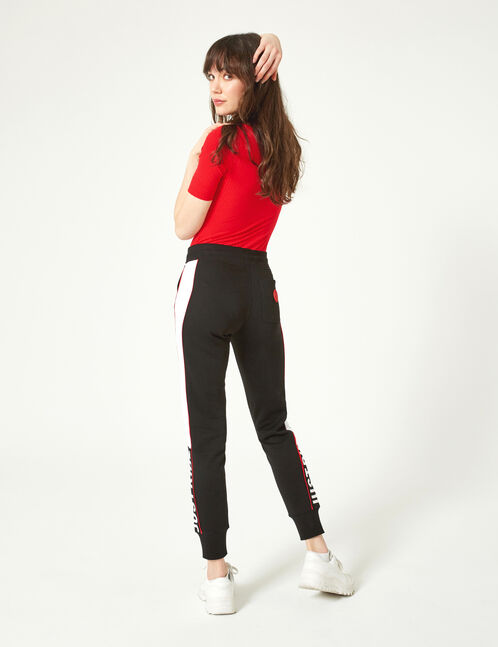 jogging just ride noir, blanc et rouge