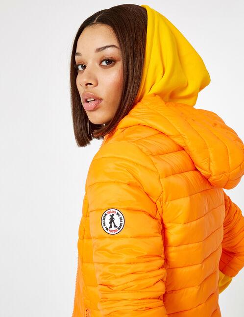 doudoune légère orange