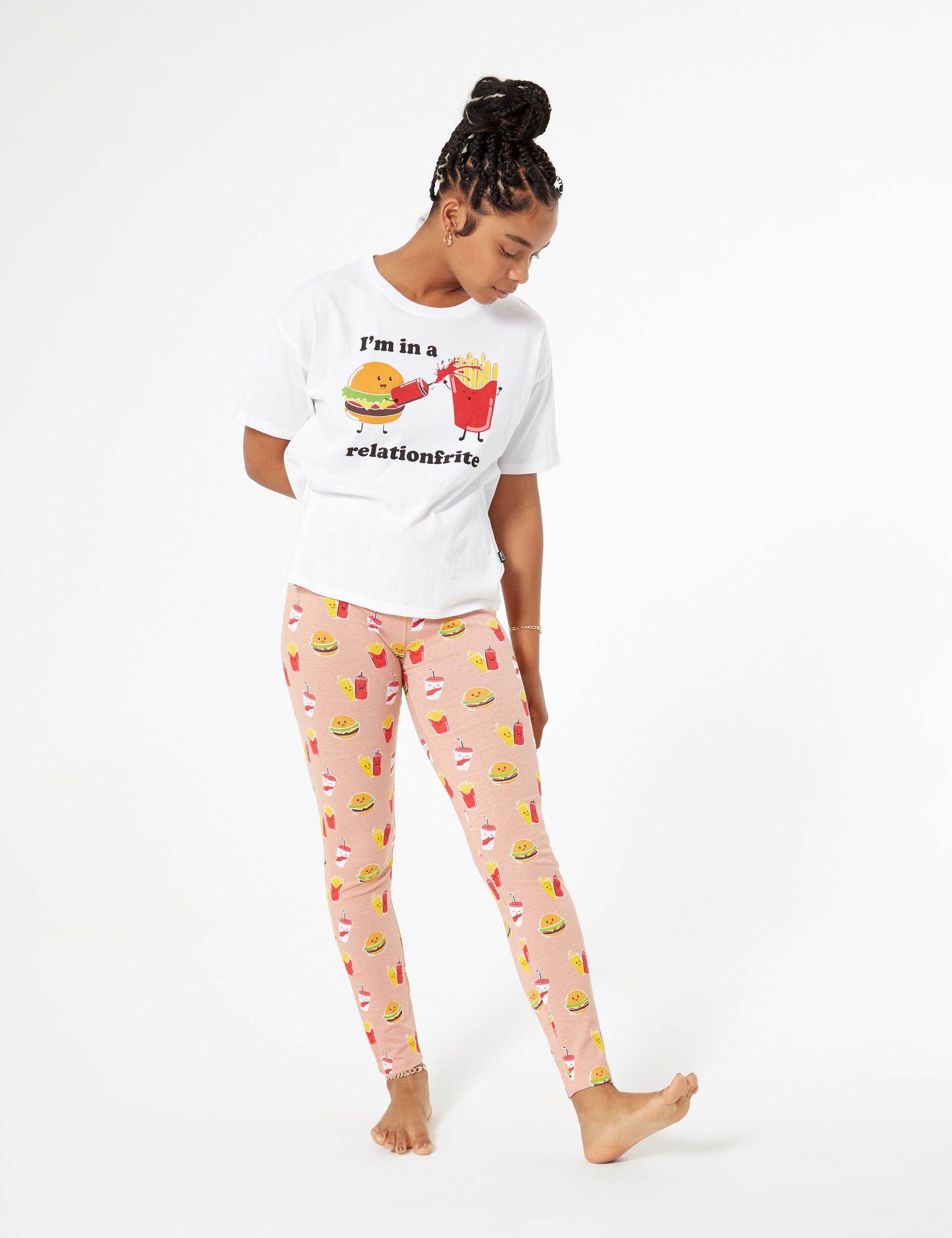 Fast food pyjamas