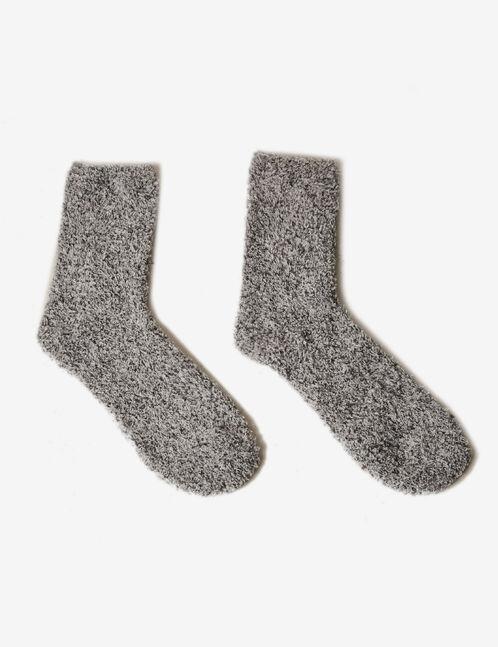 Grey mid-length socks