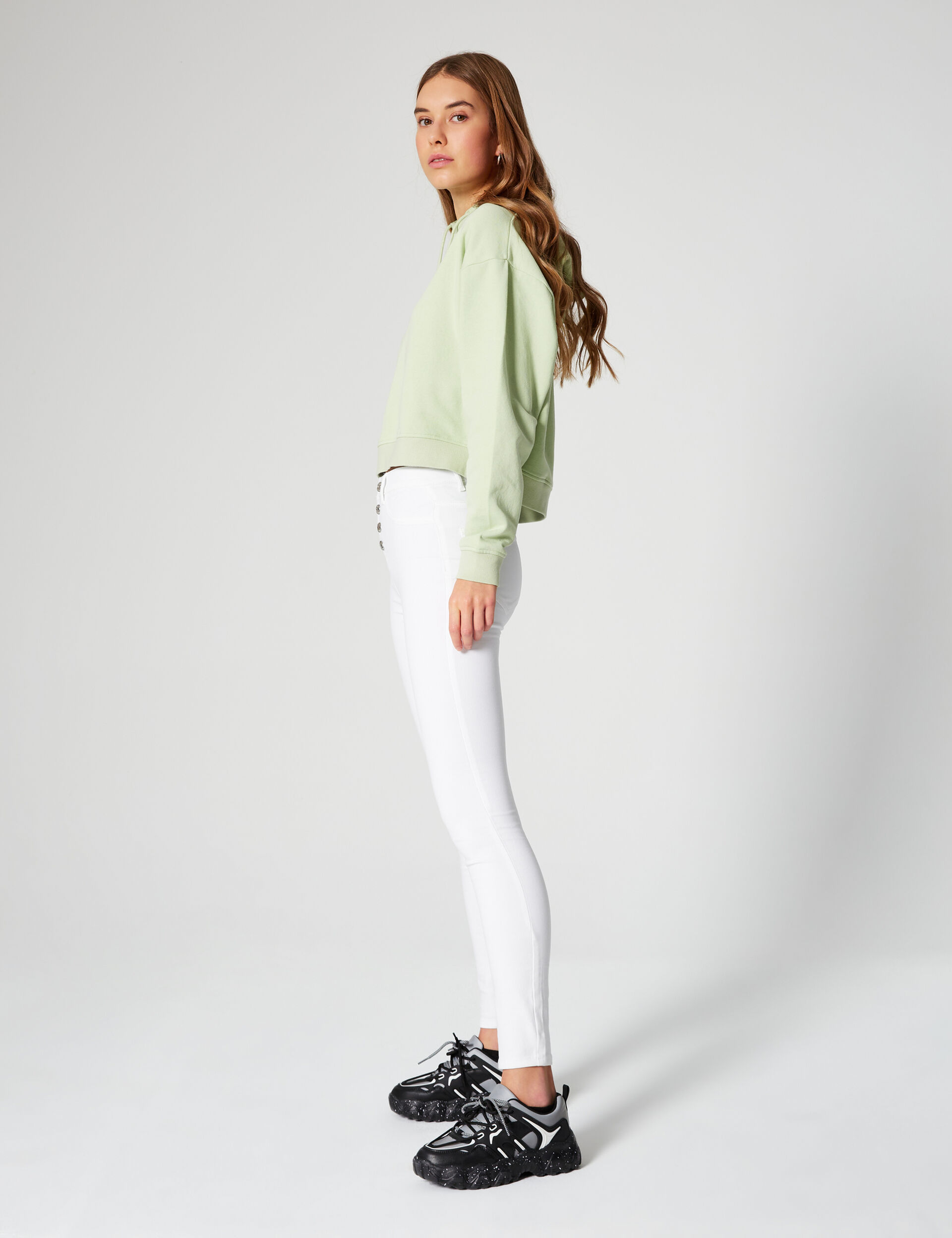 High waist jeggings
