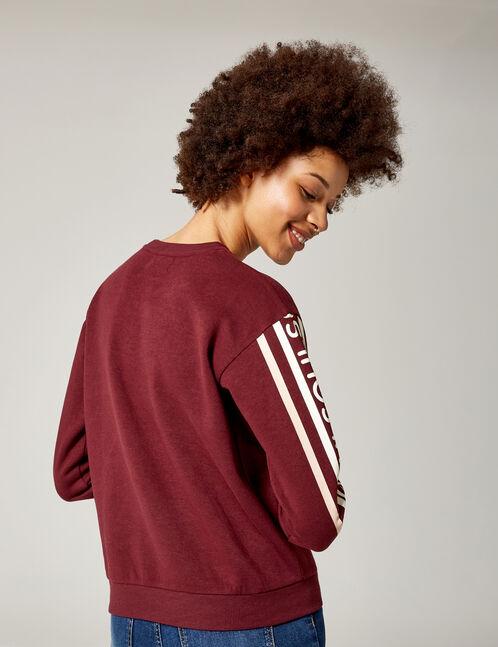 "Plum ""soul"" sweatshirt"