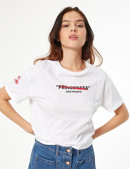 tee-shirt don't call me principessa