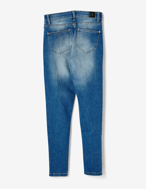 jean avec boutons pressions medium blue