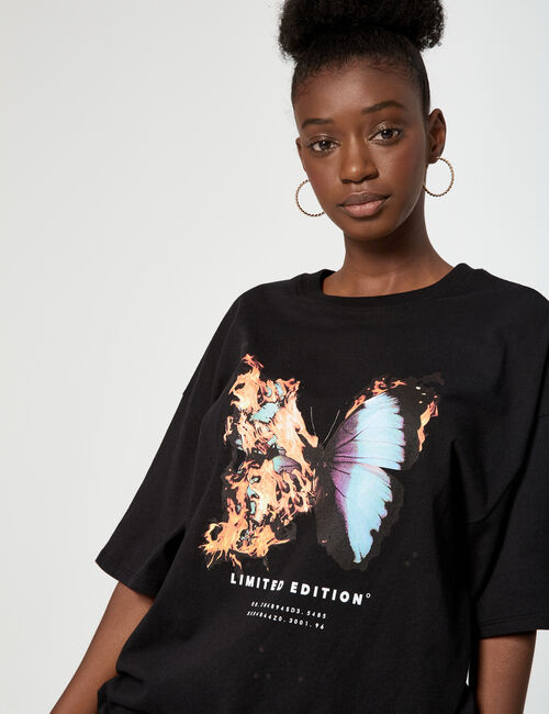 Tee-shirt oversize limited edition
