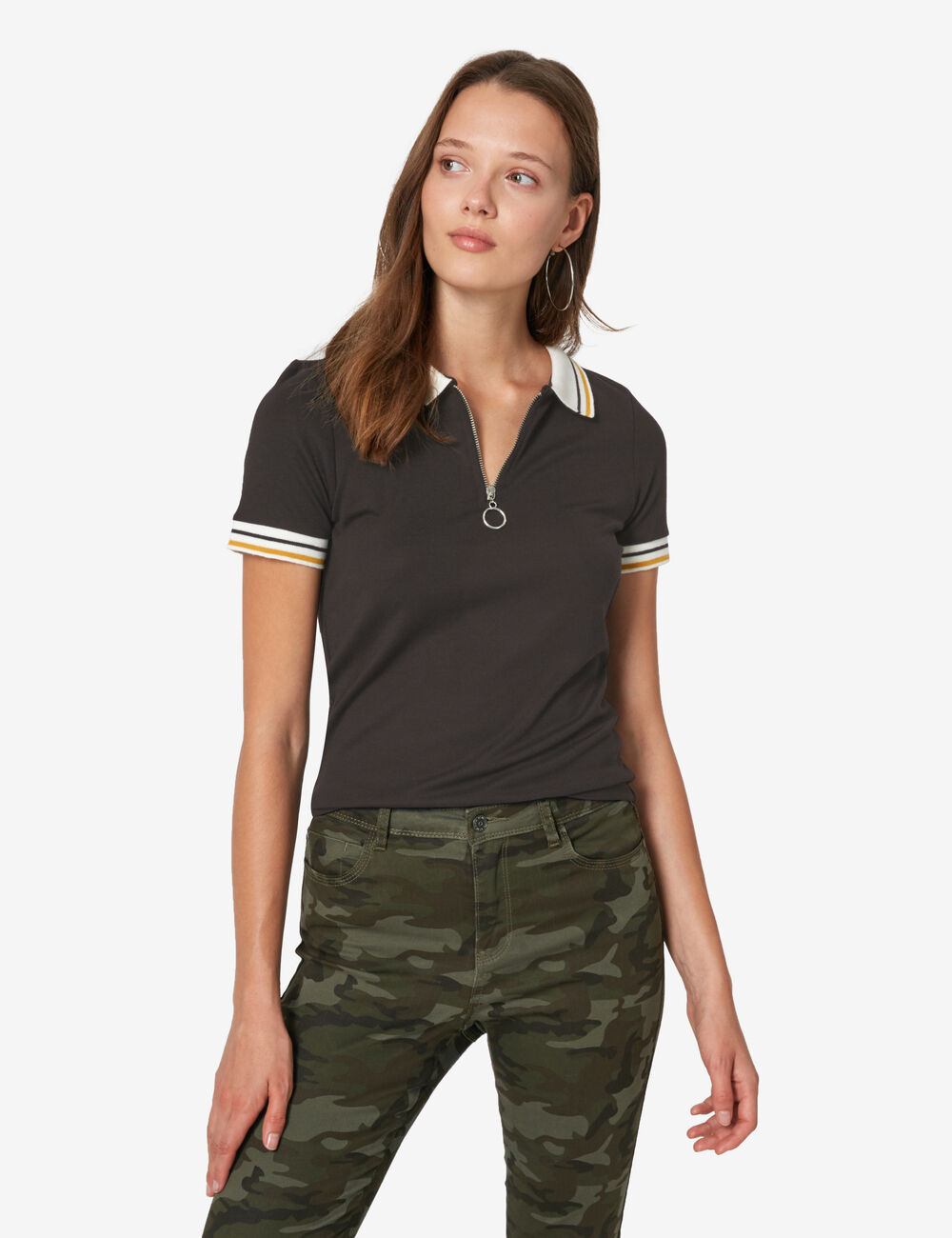 Polo Shirt With Black Dress Pants