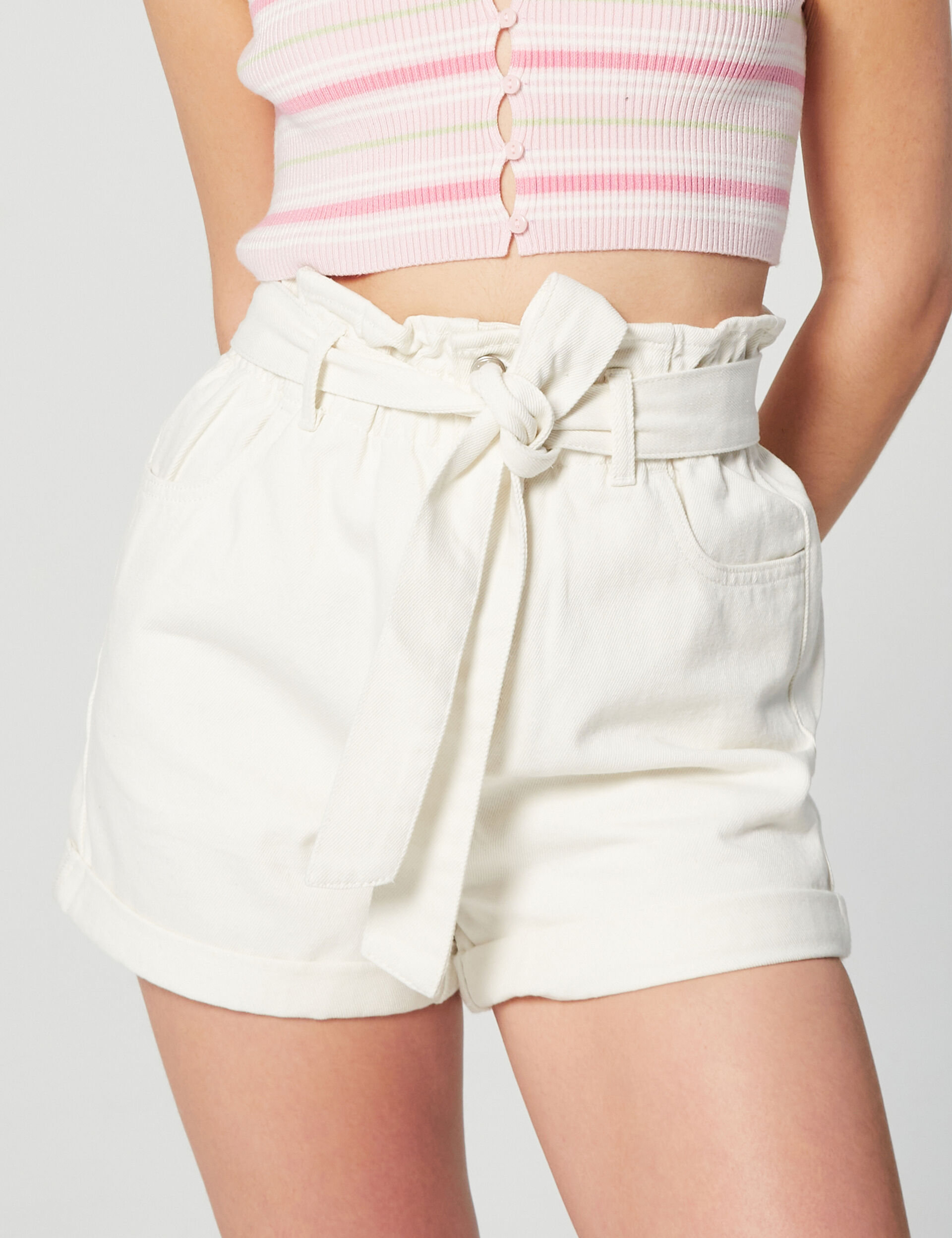 Carrot fit shorts