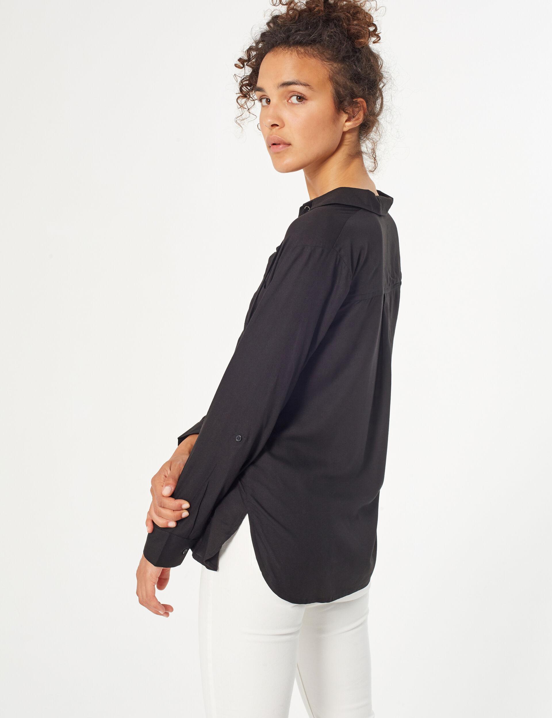 Chemise avec laçages