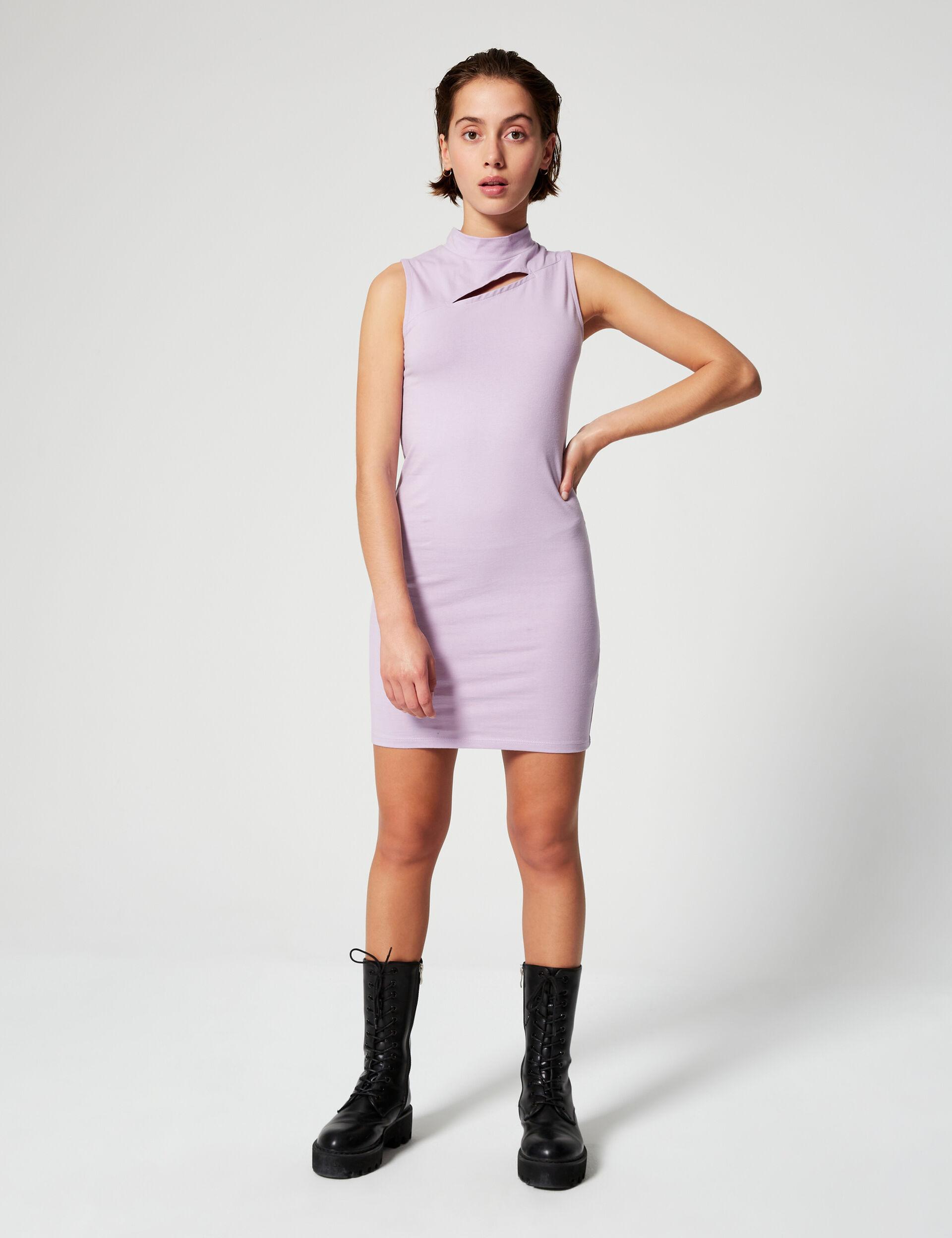 High-necked dress