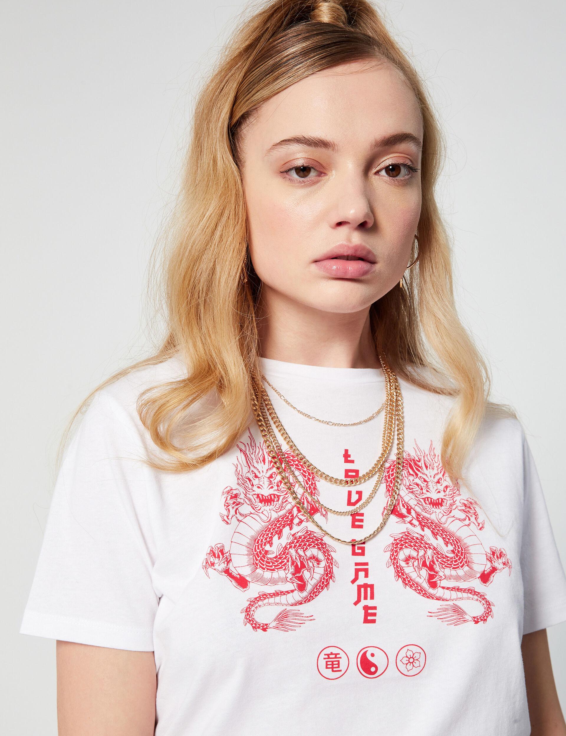 Tee-shirt loose fantaisie