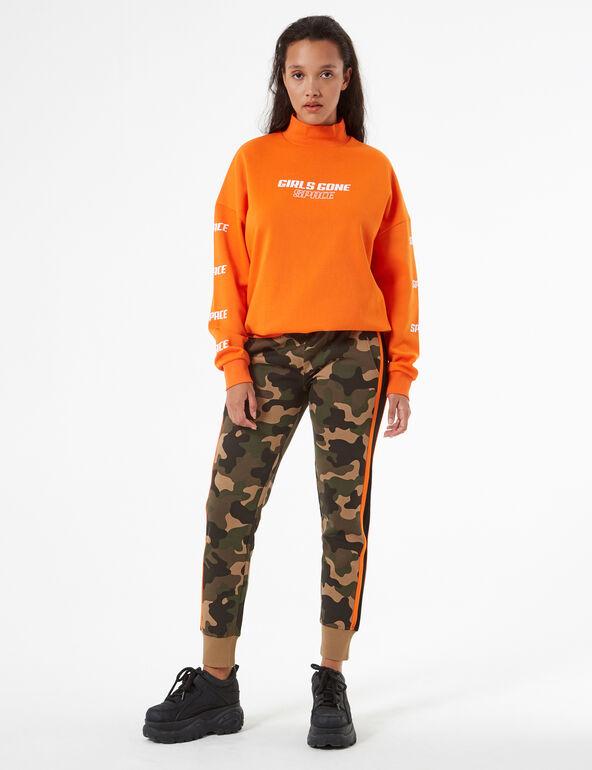 Camouflage sweatsuit