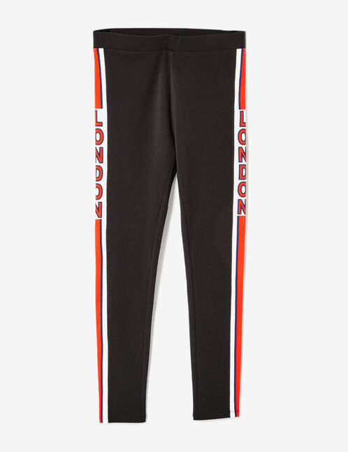 "Black ""London"" leggings"