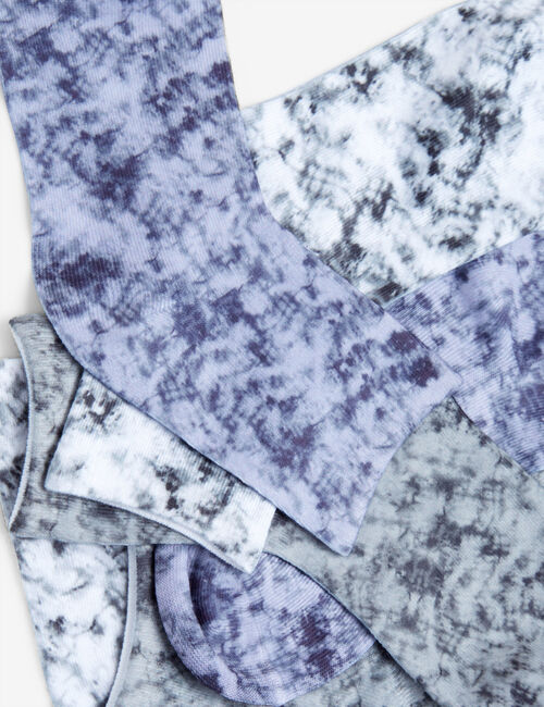 Chaussettes tie and dye