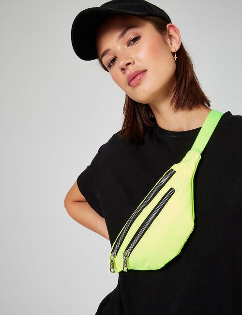 Zipped belt bag