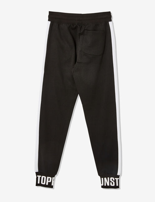"Black ""unstoppable"" joggers"