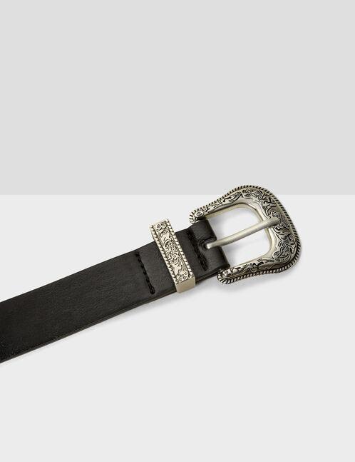 western-style buckle belt