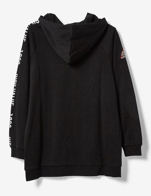 sweat long high value noir