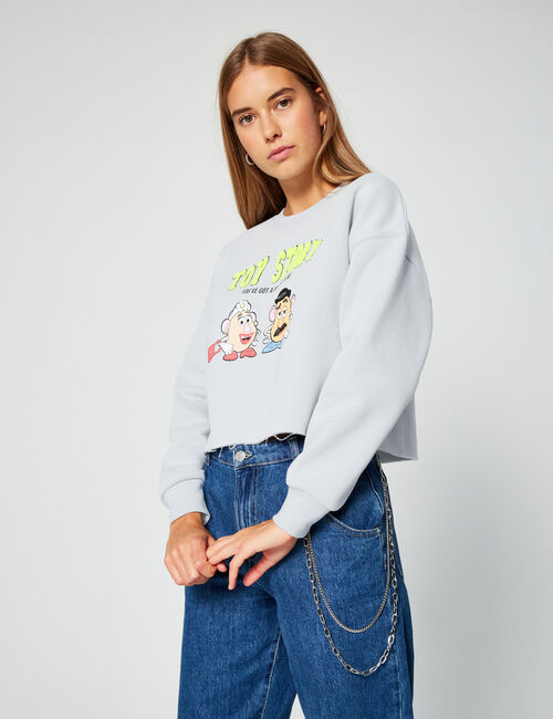 Cropped Toy Story sweatshirt