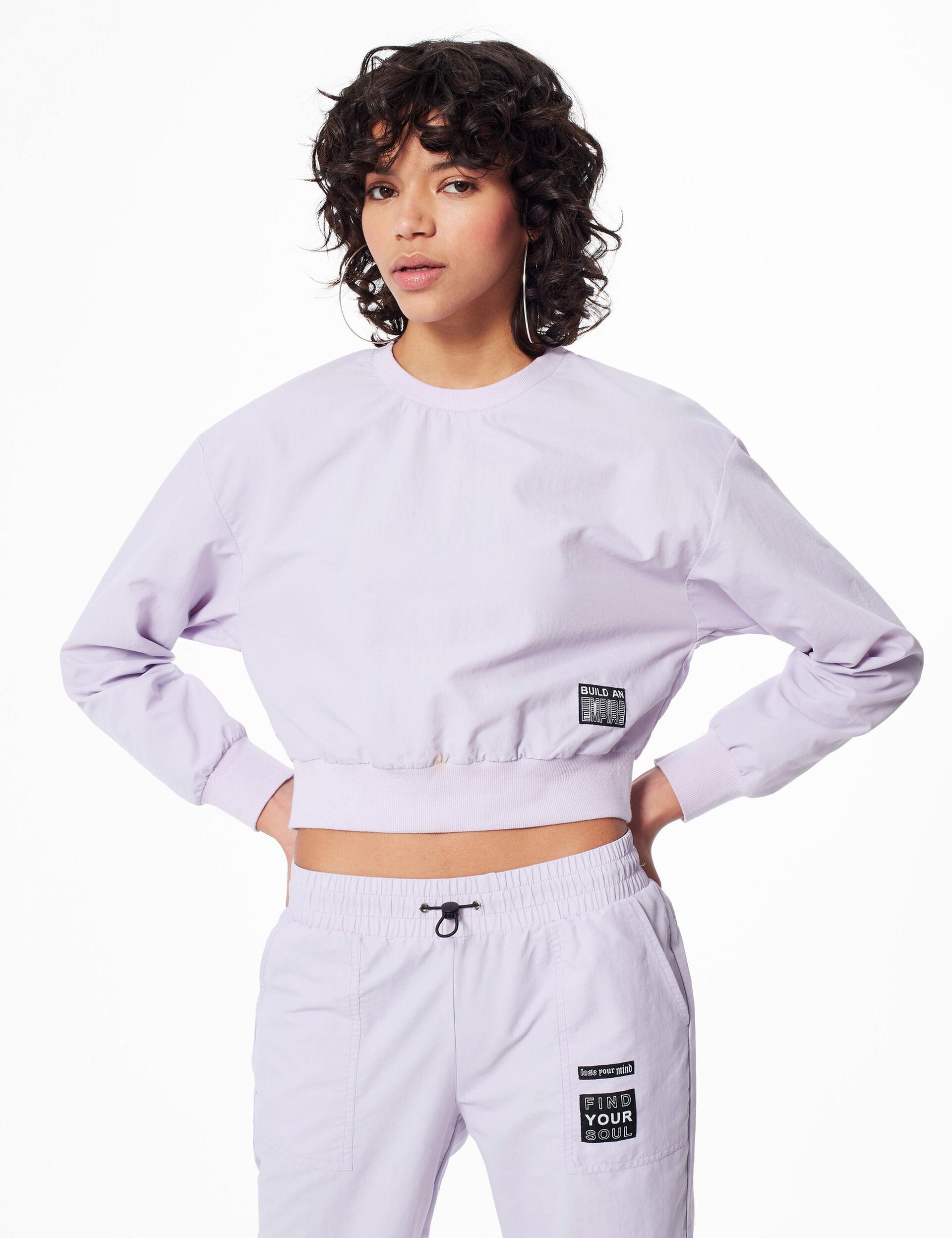Waterproof sweatshirt