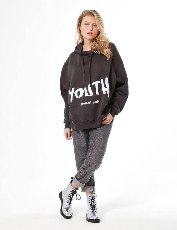 'The youth always win' hoodie