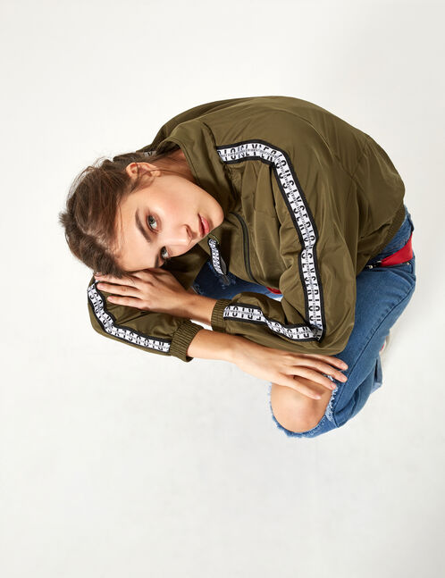Lightweight khaki jacket