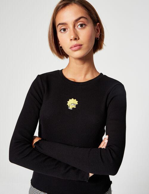 Tee-shirt côtelé Simpson